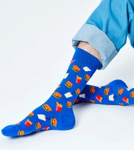 Happy Socks skarpetki HAM01-6400 CHAMBURGERY 36-40