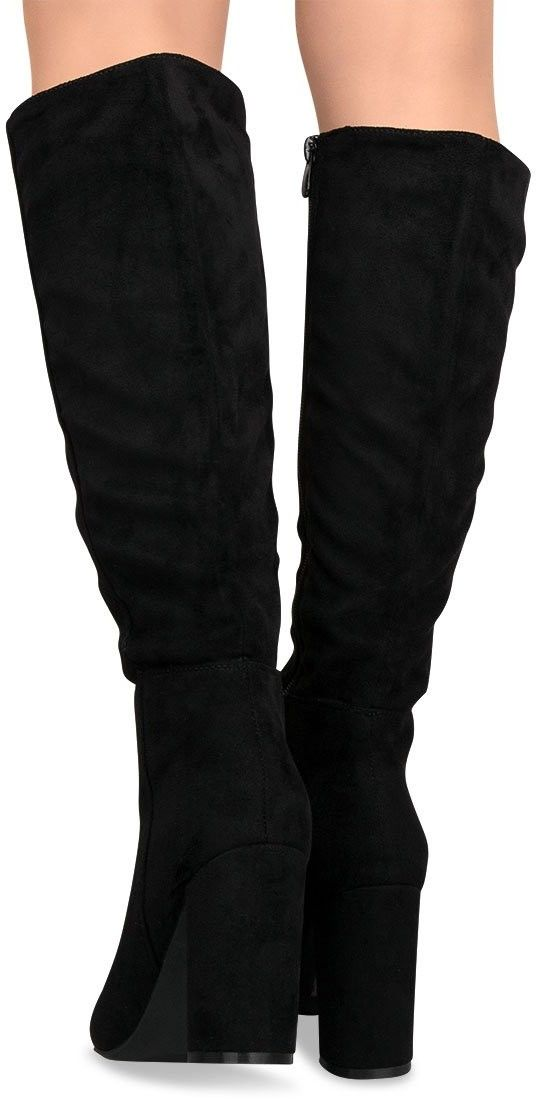 Kozaki damskie Super Mode 5256 Czarne