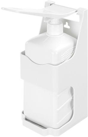 Podajnik płynów do dezynfekcji, mydła oraz żelu łokciowy - uniwersalny 1 litr Dozownik na płyn odkazajacy, łokciowy podajnik płynu do dezynfekcji rąk