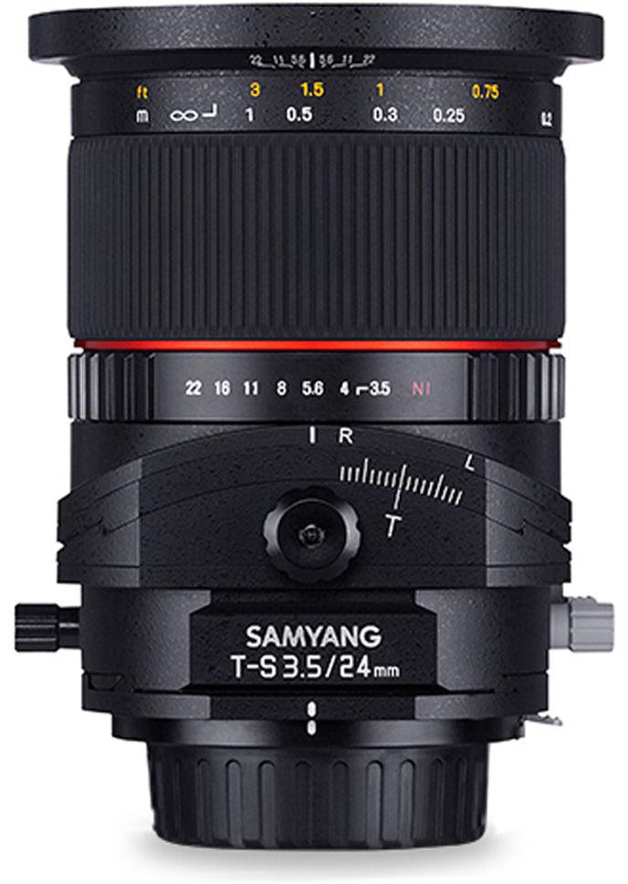 Obiektyw Samyang T-S 24mm f/3.5 ED AS UMC Tilt-shift do Canon