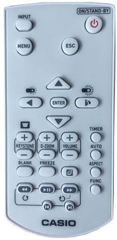 Casio YT-141 pilot do projektorów XJ-F10, -F100, -F20, -F210