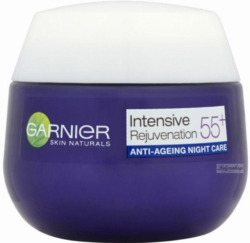 GARNIER - Intensive Restore 55+ NIGHT - Przeciwzmarszczkowy krem do twarzy - 55+ Noc - 50 ml