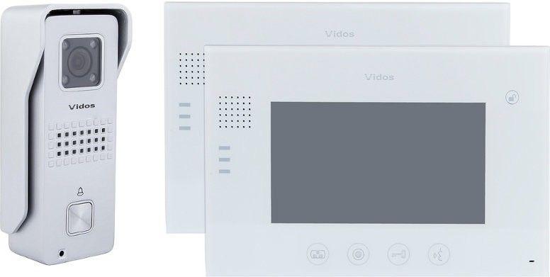Wideodomofon vidos 2 x m670w/s6s - szybka dostawa lub możliwość odbioru w 39 miastach