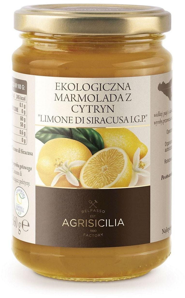 Marmolada z cytryn bio 360 g - agrisicilia