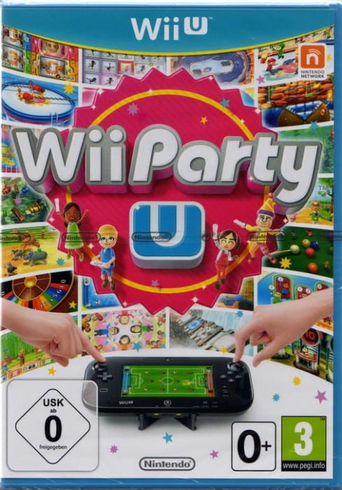 Gra WiiU Party U (Nintendo WiiU)