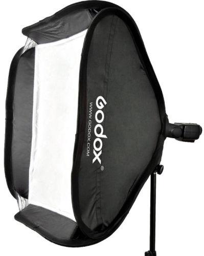 Godox SFUV8080 - zestaw plenerowy, softbox + uchwyt S do lampy reporterskiej