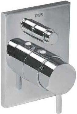 Tresmostatic bateria termostat podtynkowa wannowo-natryskowa - 1.90.652