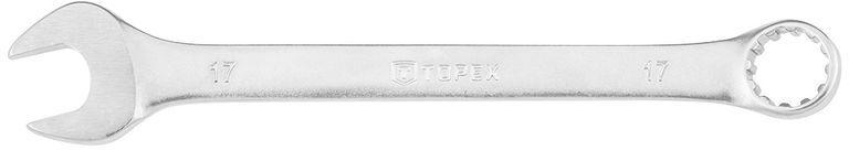 Klucz płasko-oczkowy 17mm 210 mm stal CrV eliptyczny 35D712