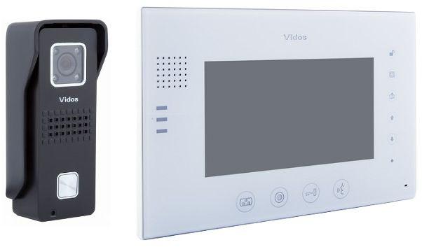 Wideodomofon vidos m670w-s2/s6b - szybka dostawa lub możliwość odbioru w 39 miastach