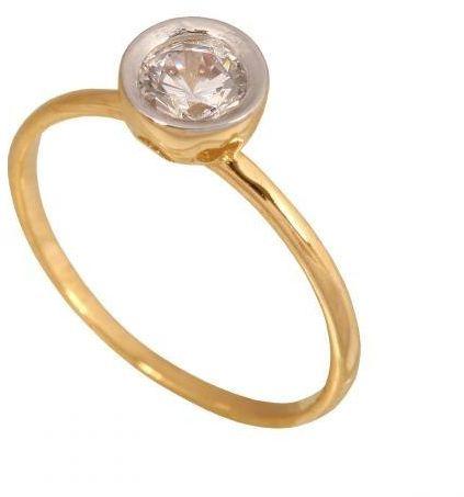 Złoty pierścionek zaręczynowy Pn938