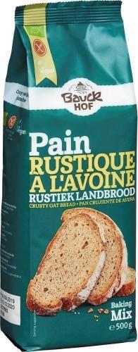 Mieszanka do pieczenia chleba z mąki owsianej bezglutenowa BIO 500 g Bauck Hof