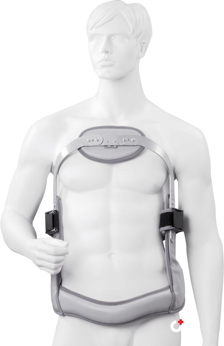 Gorset ortopedyczny JEWETTA - Trójpłaszczyznowa stabilizacja kręgosłupa między Th6  L5 (ERH 63)