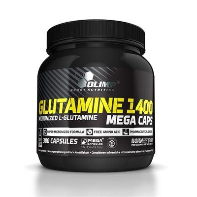 Glutamine 1400 Mega Caps 300caps