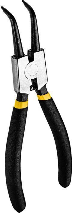 Szczypce segera zewnęczne wygięte 180mm CON-SSZ-7302