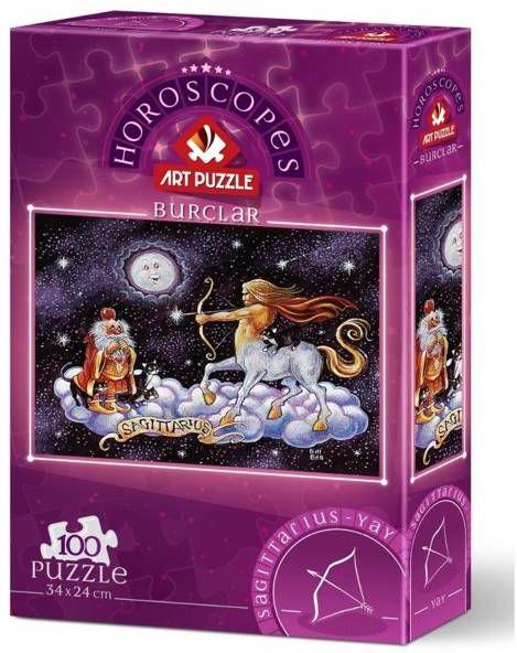 Puzzle 100 Znaki zodiaku - Strzelec - Artpuzzle