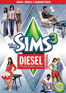 The Sims 3 Diesel Akcesoria (PC) klucz Origin