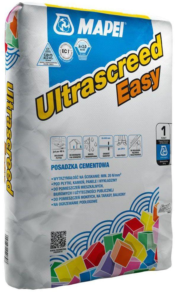 Posadzka cementowa ULTRASCREED EASY 25 kg Mapei