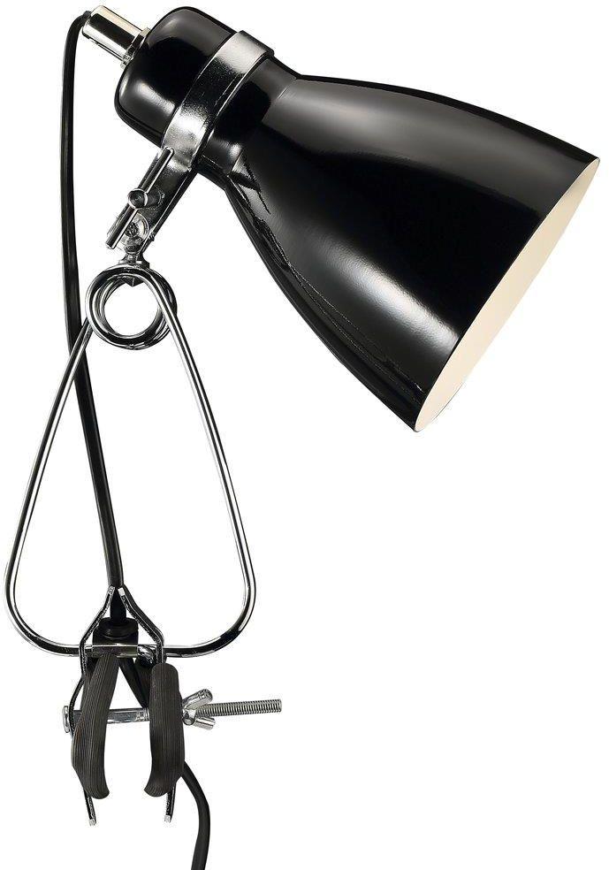 Lampa biurkowa Cyclone 73072003 Nordlux czarna oprawa z klipsem