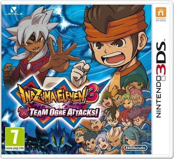 Gra Inazuma Eleven: Team Ogre Attacks (Nintendo 3DS)