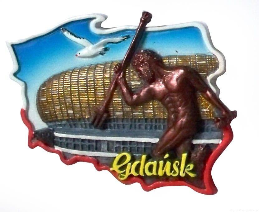 Magnes kontur Gdańsk stadion