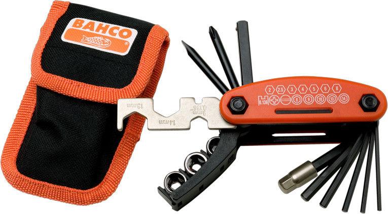 zestaw kluczy rowerowych MULTITOOL Bahco [BKE850901N]