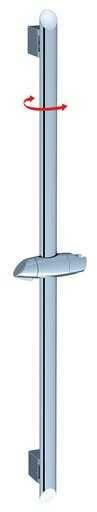 Ravak drążek prysznicowy z przesuwnym uchwytem 90cm 973.00 X07P014