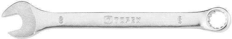 Klucz płasko-oczkowy 8mm 120 mm stal CrV eliptyczny 35D703