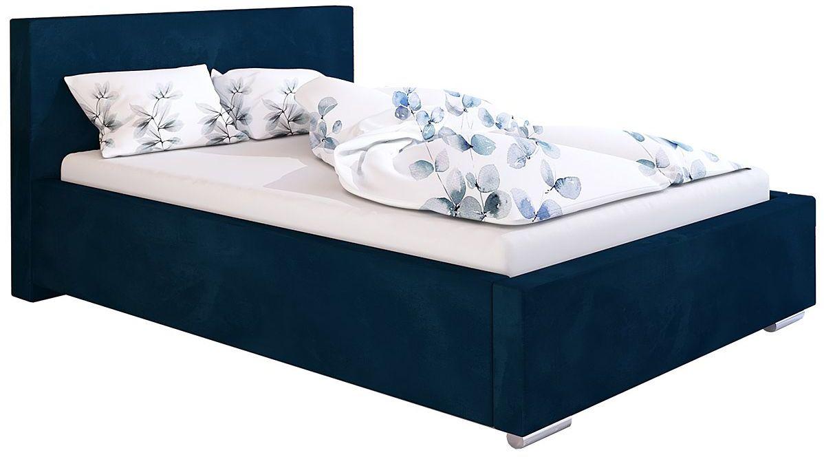 Jednoosobowe łóżko z pojemnikiem 90x200 Eger 3X - 48 kolorów