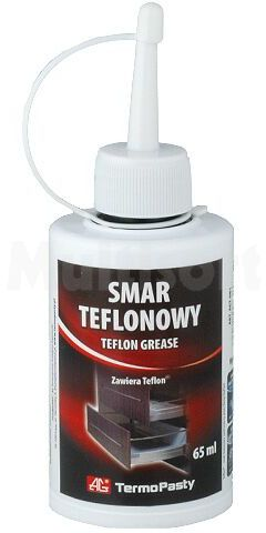 Smar pasta Składniki silikon + teflon SMAR TF 65g