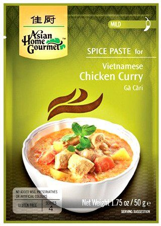 Pasta do wietnamskiego kurczaka curry, Ga Cari 50g - Asian Home Gourmet