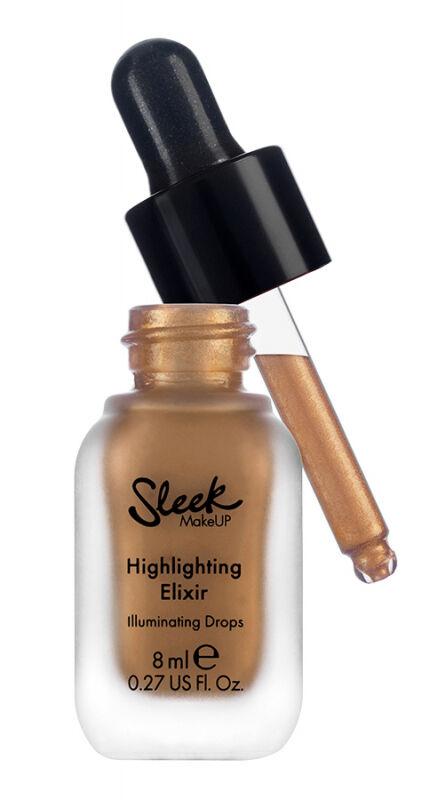 Sleek - Highlighting Elixir - Illuminating Drops - Płynny rozświetlacz - SUN.LIT