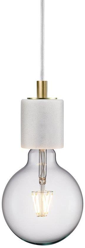 Lampa wisząca Siv 45883001 Nordlux marmurowa oprawa w kolorze białym