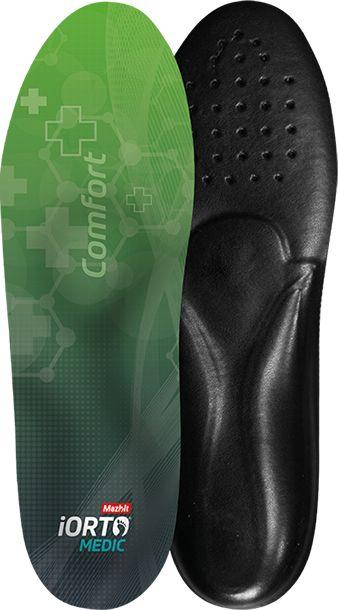 Dynamiczna wkładka na zmęczone stopy - płaskostopie poprzeczne podłużne - bóle stawów (iORTO MEDIC COMFORT)