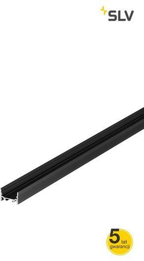 Oprawa sufitowa GRAZIA 20 LED natynkowy, płaska, 1m, czarna 1000501 - Spotline / SLV
