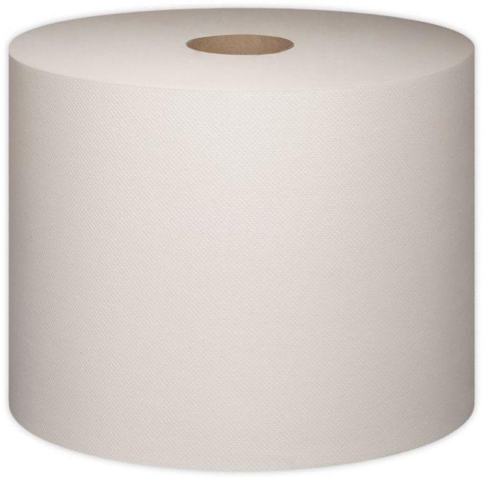 Czyściwo papierowe Tork do podstawowych zadań, dwuwarstwowe, w dużej roli, białe