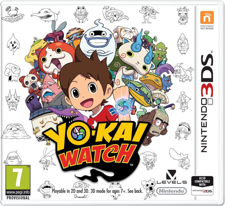 Gra YO-KAI Watch (Nintendo 3DS)