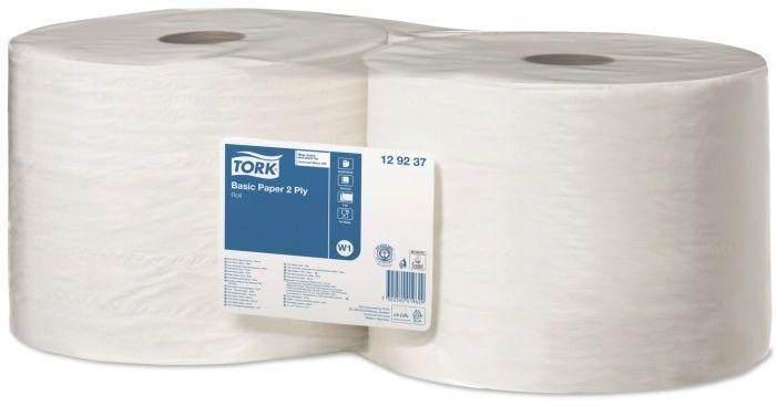 Czyściwo papierowe Tork do podstawowych zadań w roli białe