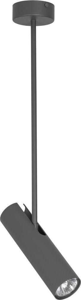 Eye lampa sufitowa 1 punktowa grafitowa 6495 - Nowodvorski // Rabaty w koszyku i darmowa dostawa od 299zł !