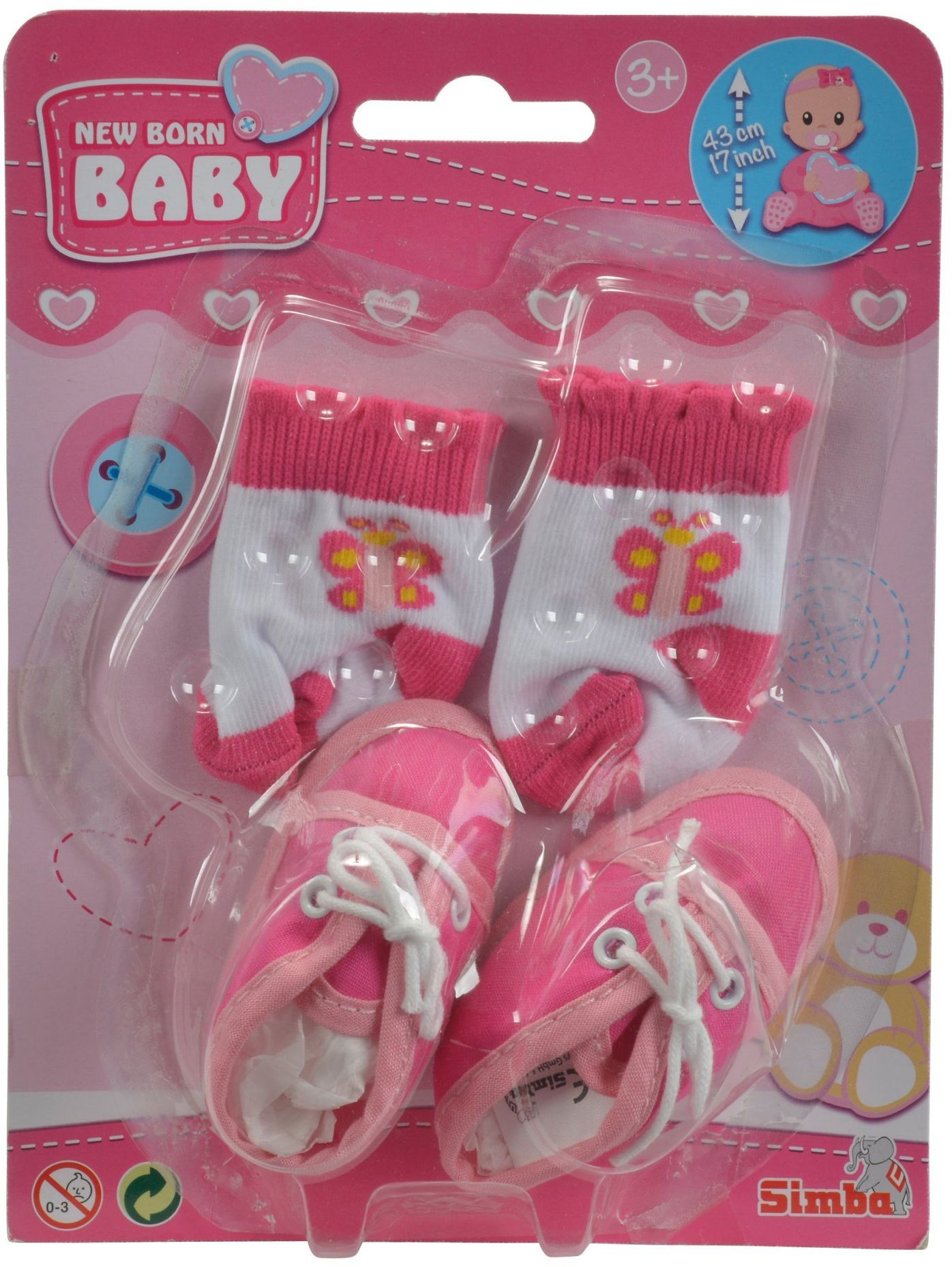 New Born Baby Buciki i skarpetki
