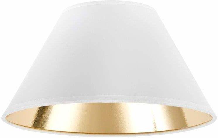 Klosz lampy w kształcie wiktoriańskim, 30 x 13 x 18 cm, biały