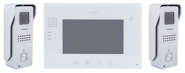 Wideodomofon vidos m670w/ 2 x s6s - szybka dostawa lub możliwość odbioru w 39 miastach