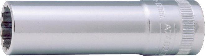 """Zestaw wydłużanych, 12-kątnych nasadek 1/2"""", 10-21mm, 12 szt. BAHCO [S1612L]"""