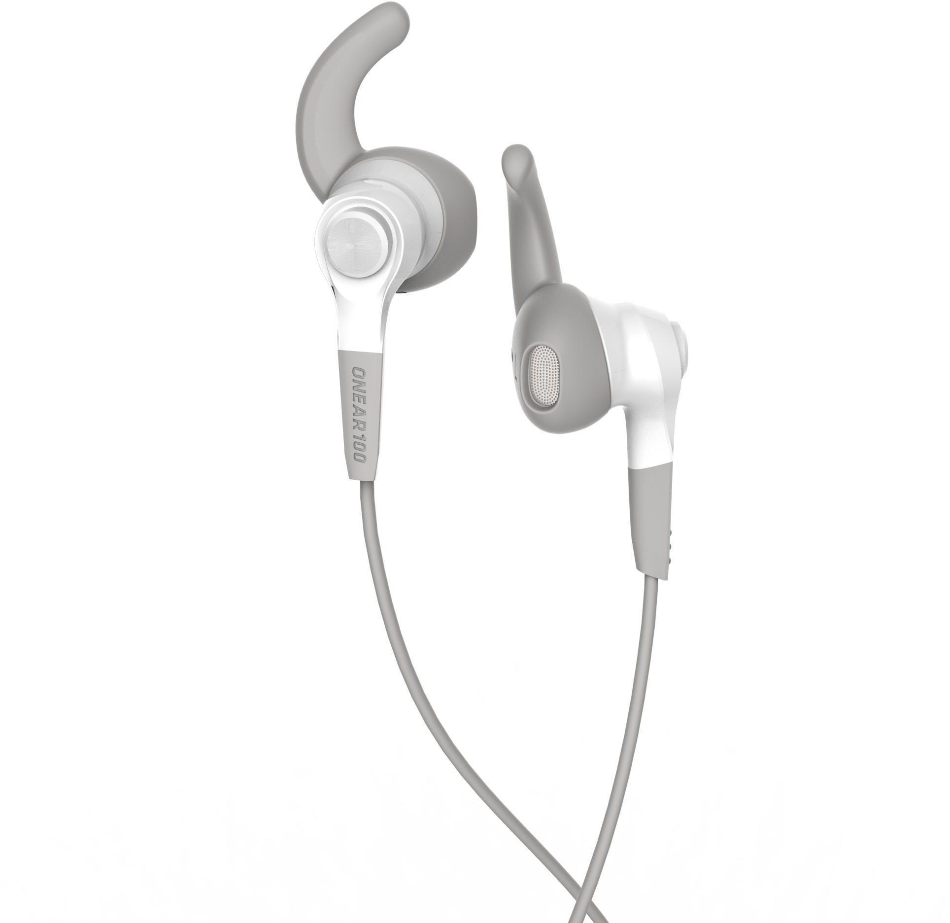 Słuchawki sportowe przewodowe Kalenji ONear 100