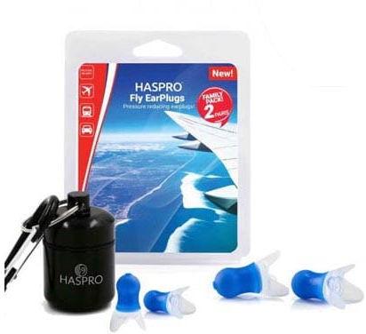 Zatyczki do uszu Haspro Family Pack podróż
