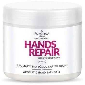 Farmona HANDS REPAIR Aromatyczna sól do kąpieli dłoni - 500 g