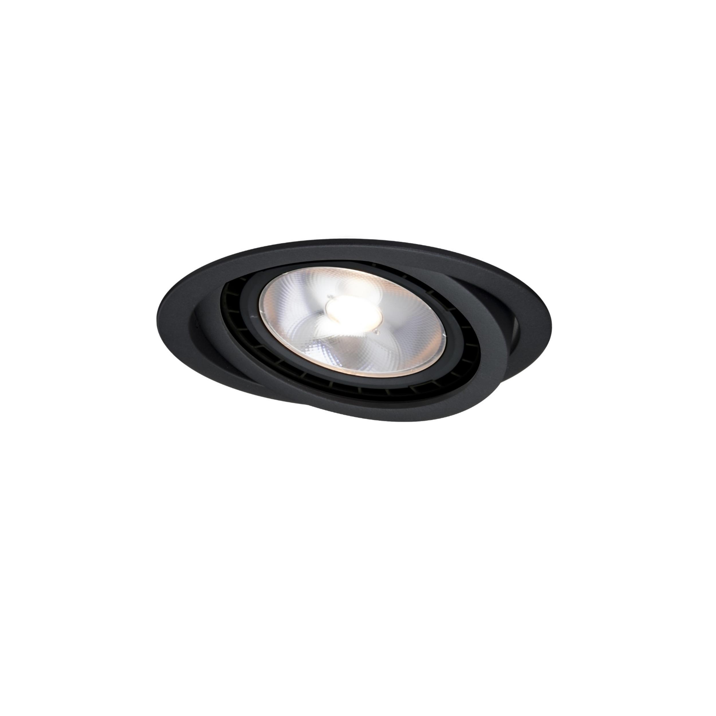 Oczko ruchome Nero czarne LP-4424/1RS BK movable - Light Prestige // Rabaty w koszyku i darmowa dostawa od 299zł !
