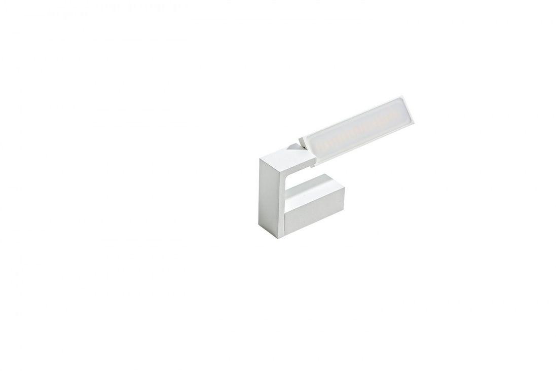 Kinkiet Dalen IP44 AZzardo ruchoma oprawa w kolorze białym