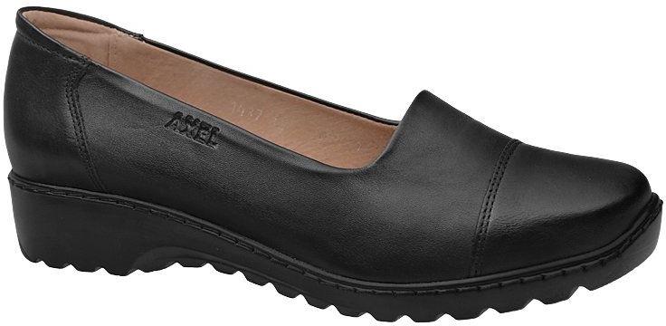 Półbuty na haluksy AXEL Comfort 1437 Czarne na platformie