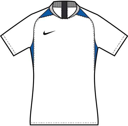 Nike Koszulka dziecięca Legend Jersey SS trykot, biały/Royal blue/czarny/czarny, S
