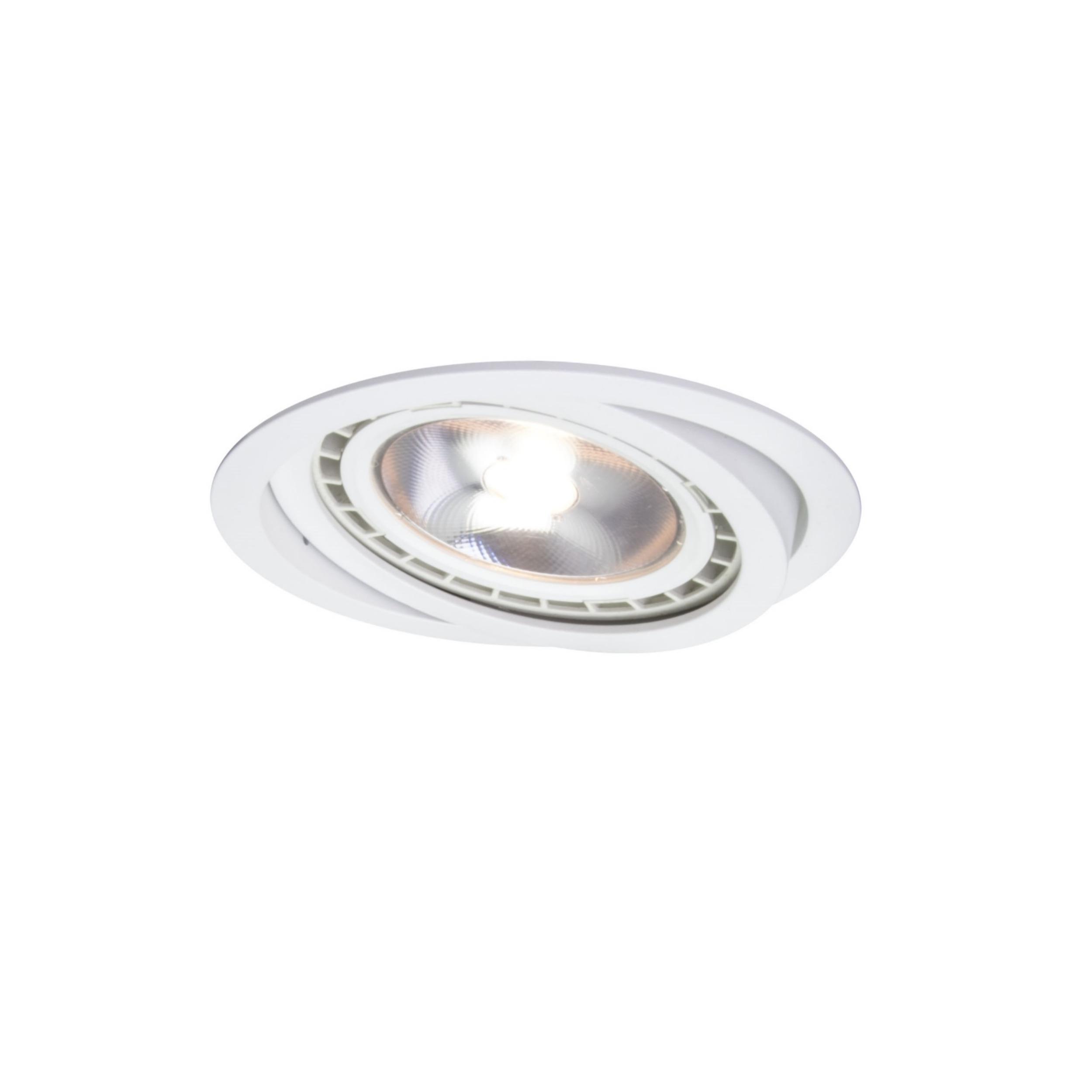 Oczko ruchome Nero białe LP-4424/1RS WH movable - Light Prestige // Rabaty w koszyku i darmowa dostawa od 299zł !